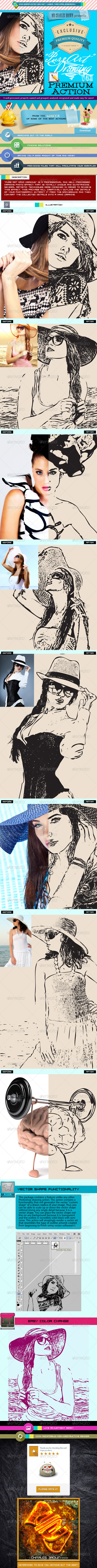 GraphicRiver Pure Art Hand Drawing 43 Fashion Vector Outline 5859792