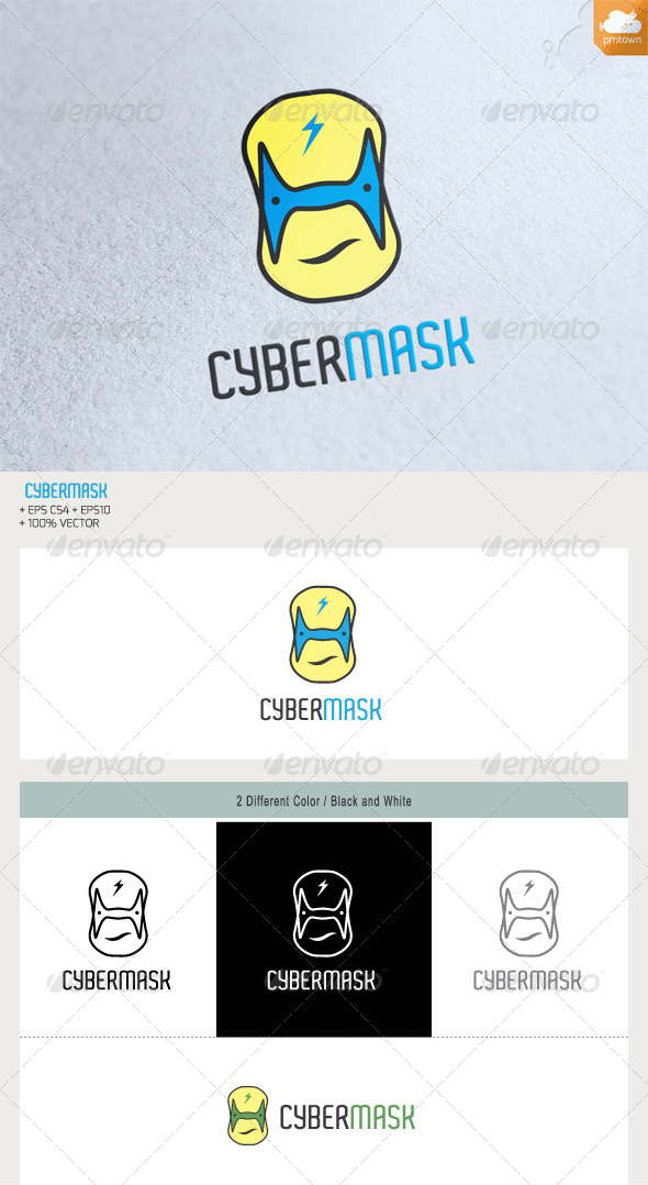 GraphicRiver Cyber Mask 5859794