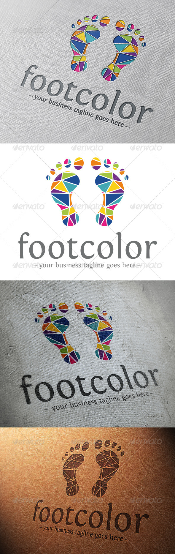 Creative Foot Logo Template