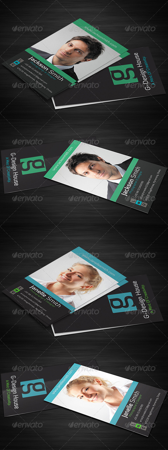 GraphicRiver Corporate Business Card Vol-2 5860263