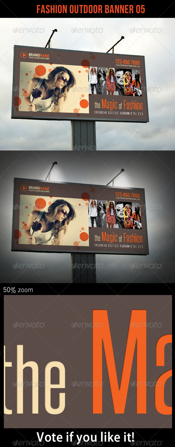 GraphicRiver Fashion Outdoor Banner 05 5860739