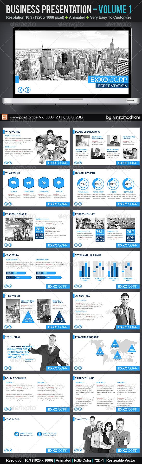 GraphicRiver Business Presentation Volume 1 5817202
