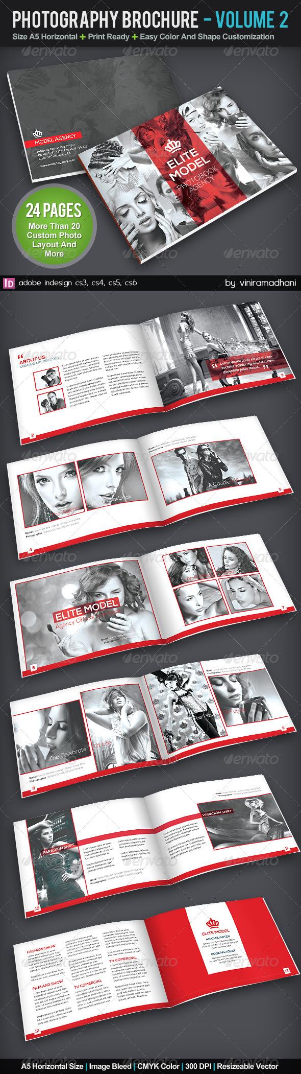 Photography Portfolio Brochure | Volume 2 - Portfolio Brochures