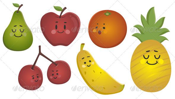 Happy Fruits Set