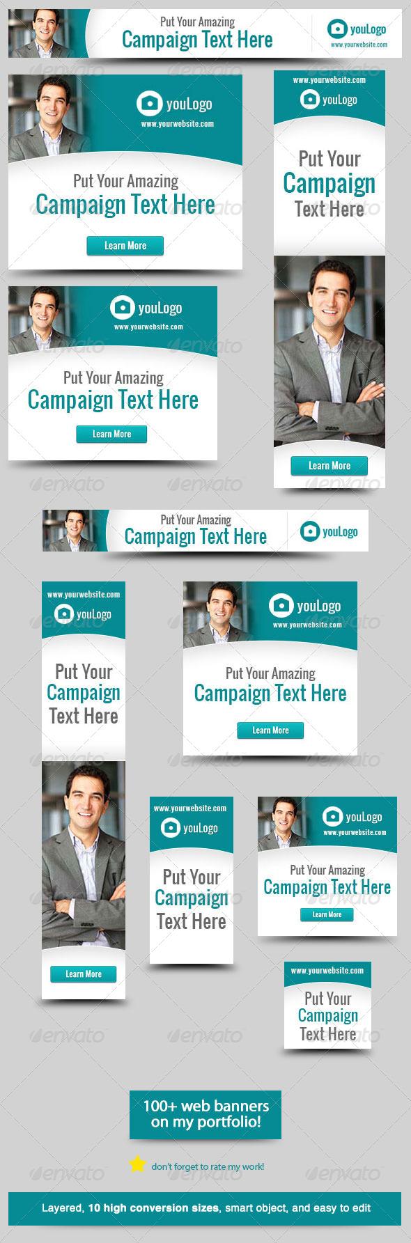 GraphicRiver Corporate Web Banner Design Template 28 5860873