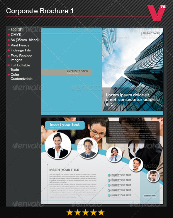 GraphicRiver Corporate Brochure 1 5816820