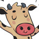 Dancing Cow - GraphicRiver Item for Sale