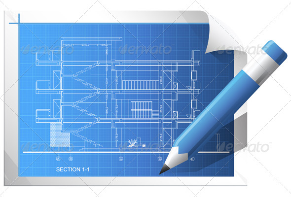GraphicRiver Architectural Drawing 5861031