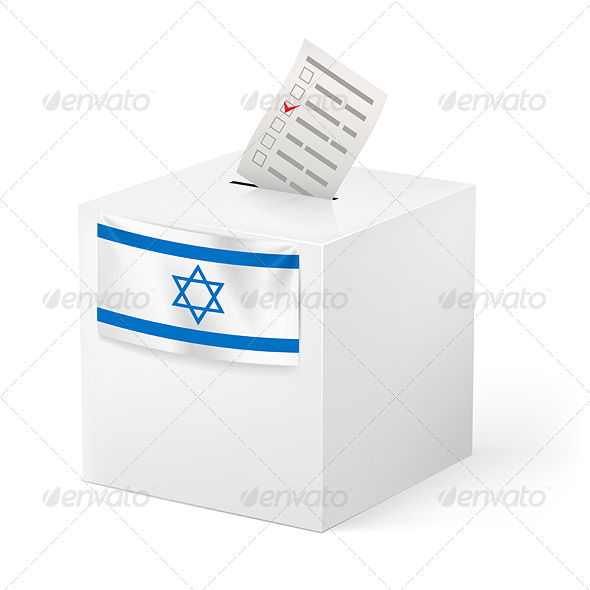 GraphicRiver Ballot Box with Voicing Paper 5861053