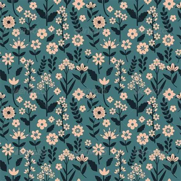 GraphicRiver Floral Pattern 5861068