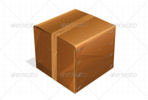GraphicRiver Box Icon 5861100