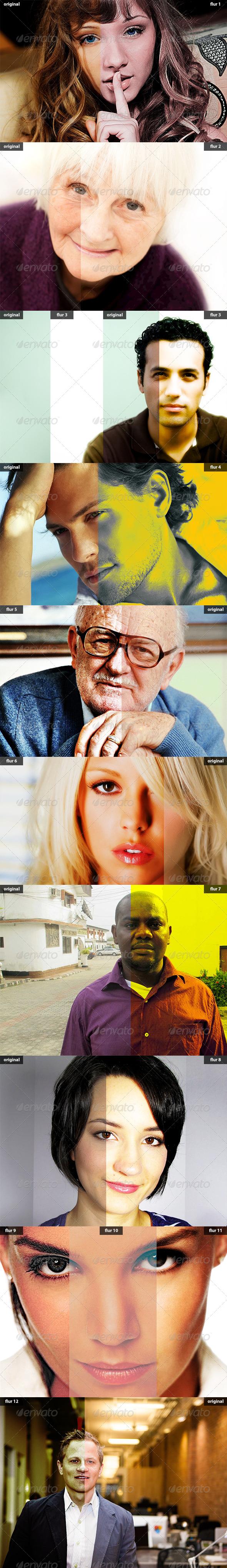 GraphicRiver Flur Photoshop Actions 5861178