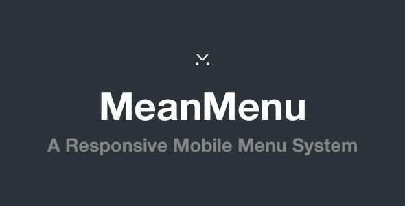 CodeCanyon MeanMenu Responsive Mobile Menu 5861287