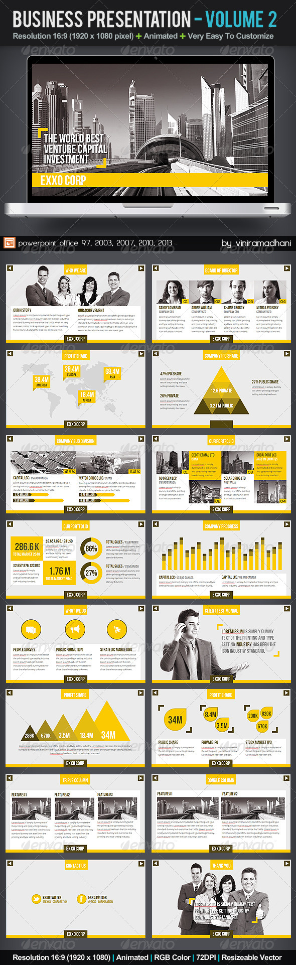 GraphicRiver Business Presentation Volume 2 5861356
