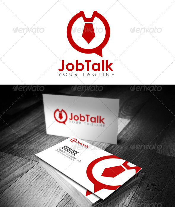 GraphicRiver Job Talk Logo 5861712