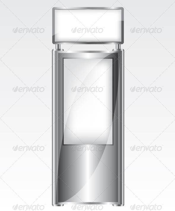 GraphicRiver Trade Exhibition Metal Stand Illustration 5862019