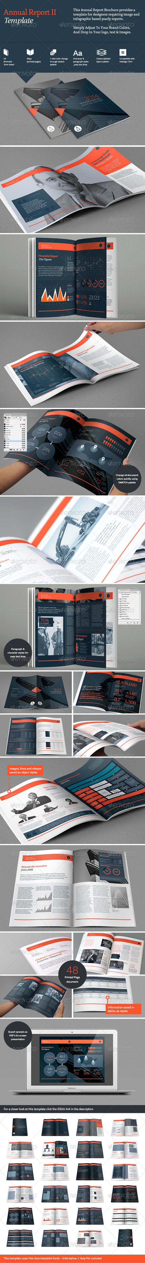 Annual Report II - Informational Brochures