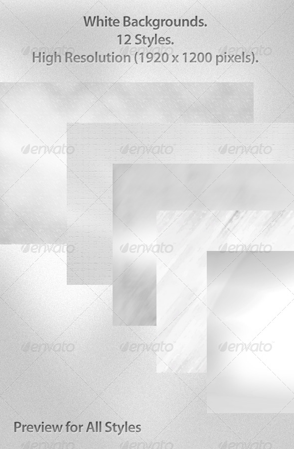 GraphicRiver 12 White Backgrounds 1920x1200 5820579
