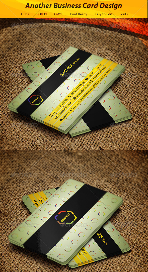 GraphicRiver Business Card 5862242