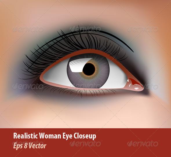 GraphicRiver Eye Closeup 5862250