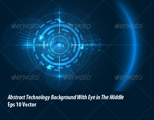 GraphicRiver Eye of Technology 5862263