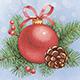 Vintage Christmas Cards - GraphicRiver Item for Sale