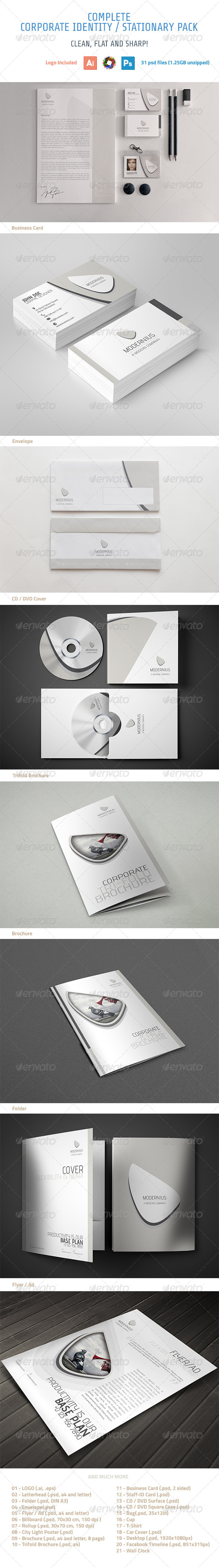GraphicRiver Corporate Identity 5782616