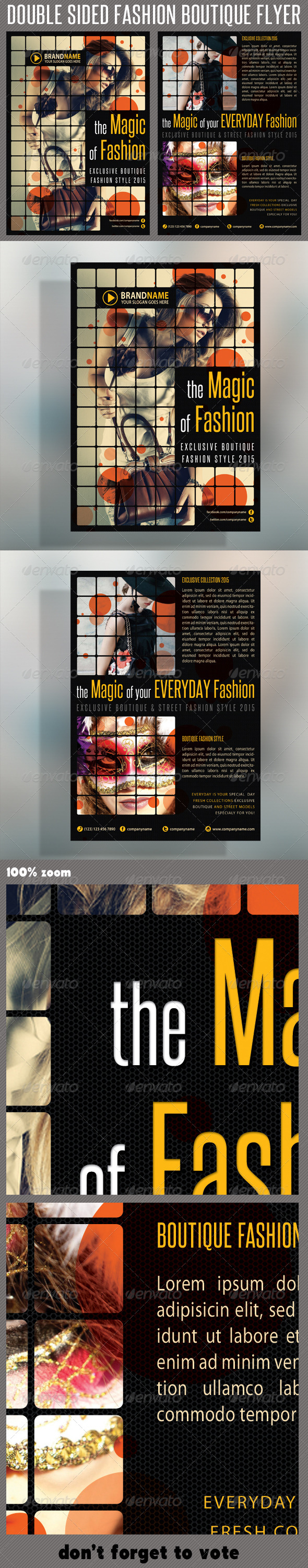 GraphicRiver Fashion Product Flyer 05 5863413
