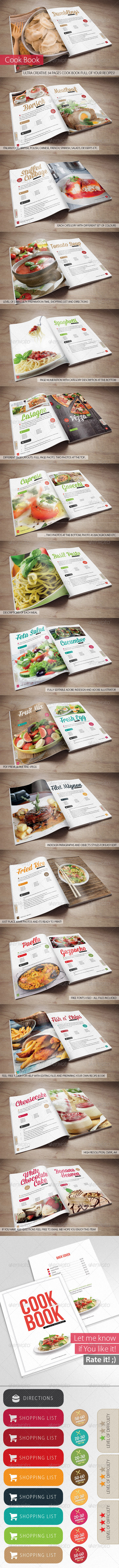 GraphicRiver Cook Book Your Recipes 5826114