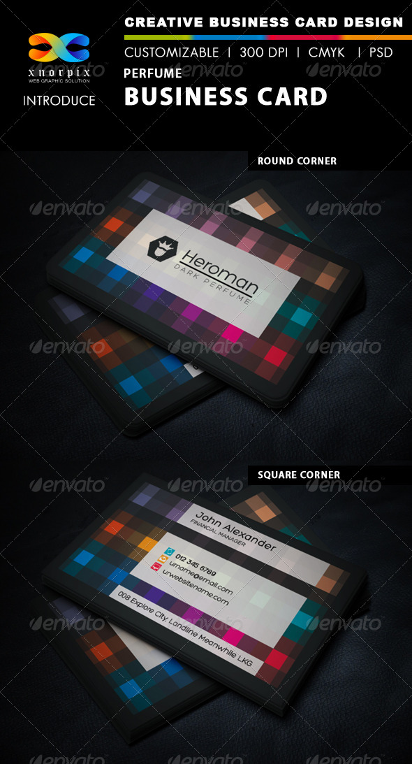GraphicRiver Perfume Business Card 5863836