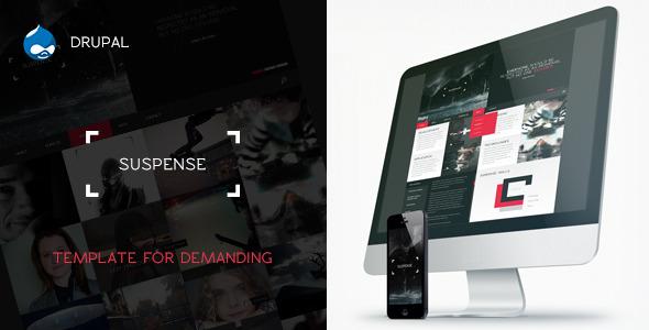 SUSPENSE - Responsive Drupal 7 Theme