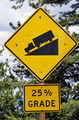 Steep Road Sign - PhotoDune Item for Sale