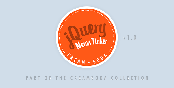 CodeCanyon Cream Soda jQuery News Ticker 5829088