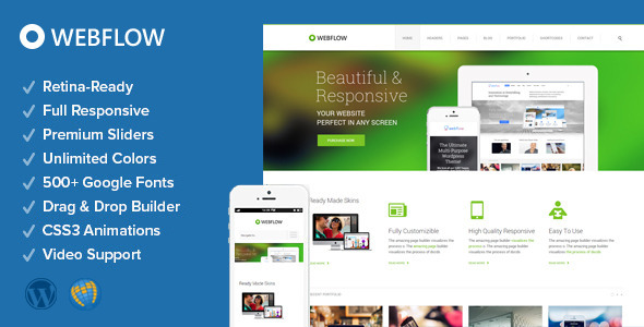 ThemeForest Webflow Responsive Multi-Purpose Theme 5839808