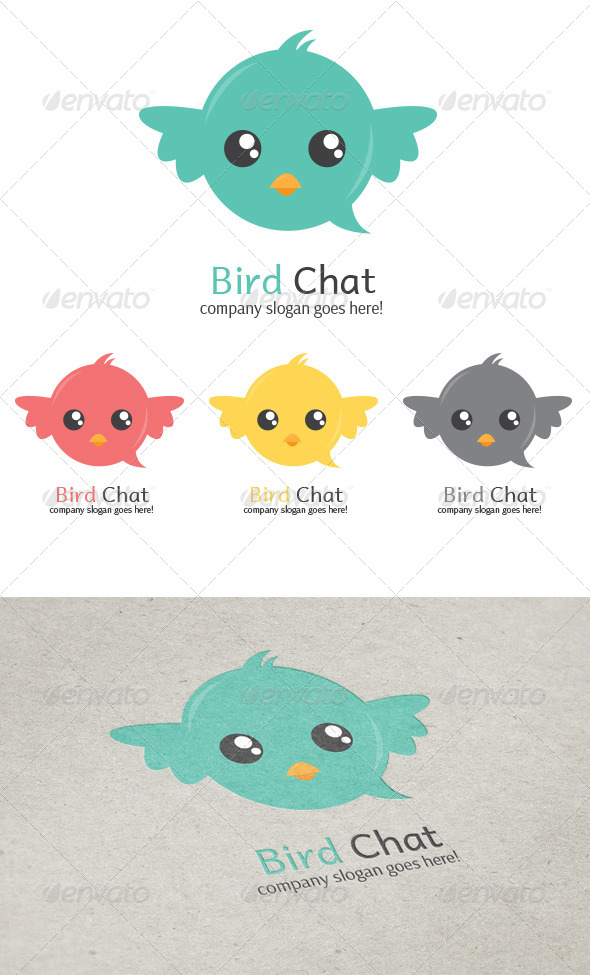 GraphicRiver Bird Chat 5864093