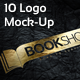 10 Photorealistic Logo Mock-Ups - GraphicRiver Item for Sale