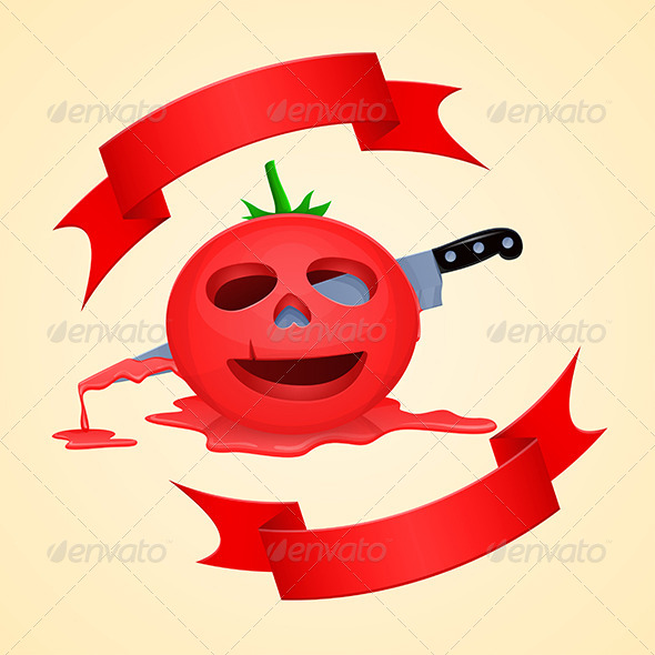 GraphicRiver Halloween Tomato 5864379
