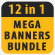 12 in 1 Sport Banner Mega Bundle - GraphicRiver Item for Sale
