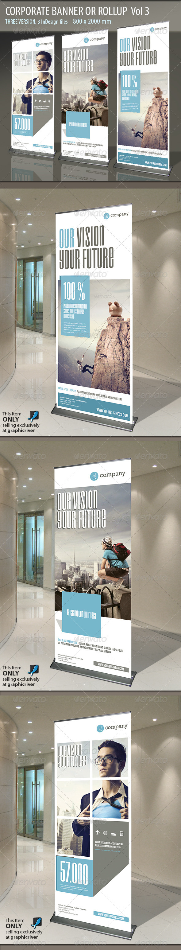 GraphicRiver Corporate Banner or Rollup Vol 3 5864778