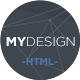 Link toMydesign - onepage multipurpose flat html template