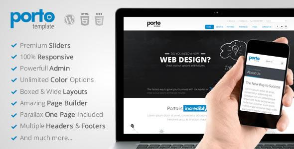 ThemeForest Porto Multipurpose Responsive WordPress Theme 5864981