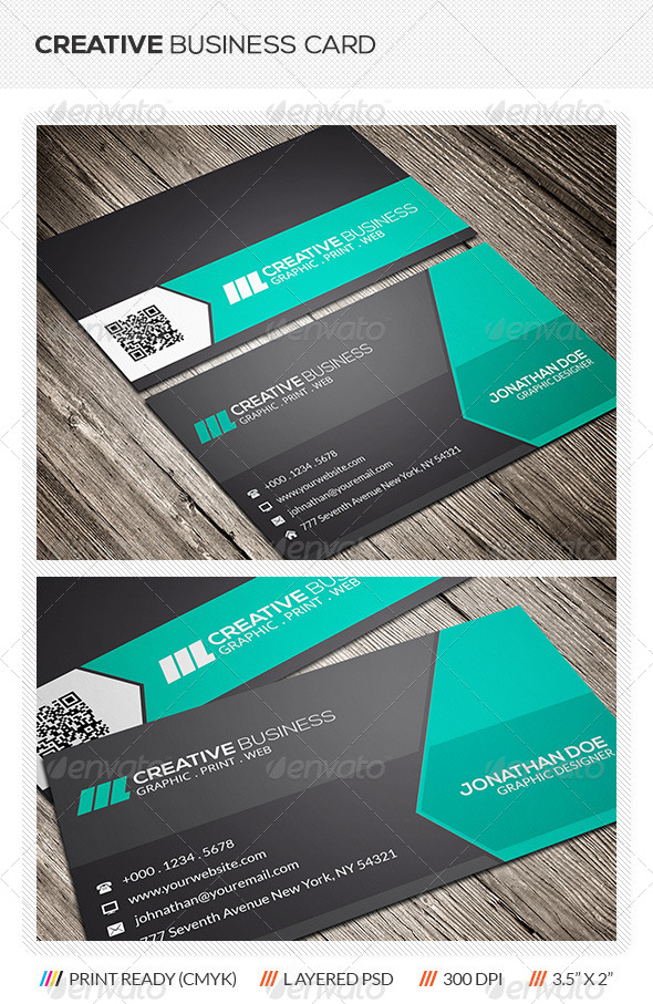GraphicRiver Creative Business Card 5866498