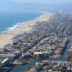 Los Angeles Beach Aerial Shot - VideoHive Item for Sale