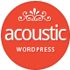 Acoustic - Powerful Elegant WordPress Theme