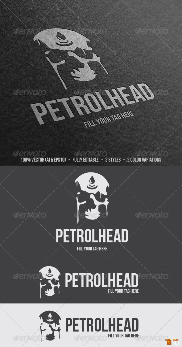 Petrolhead Logo - Humans Logo Templates
