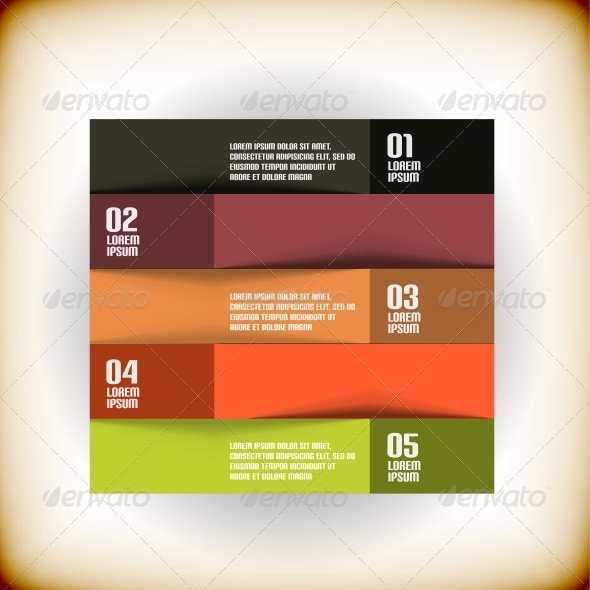 GraphicRiver Vintage Ribbon Design Template 5868181