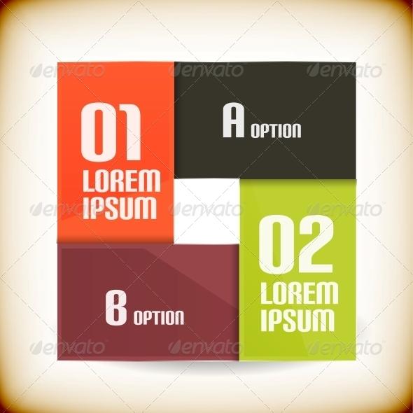 GraphicRiver Square Design Vintage Template 5868213