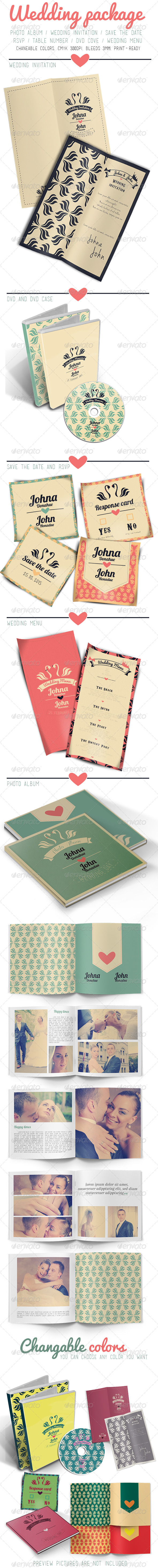 GraphicRiver Wedding Package 5868697
