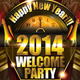 New Years Eve PSD Template - GraphicRiver Item for Sale