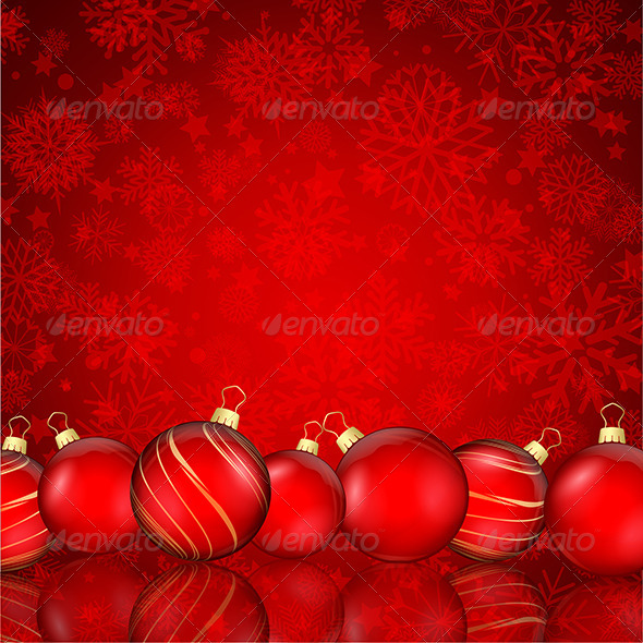 GraphicRiver Christmas Background 5869081